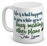 John Steve Quoted White Coffee Mug