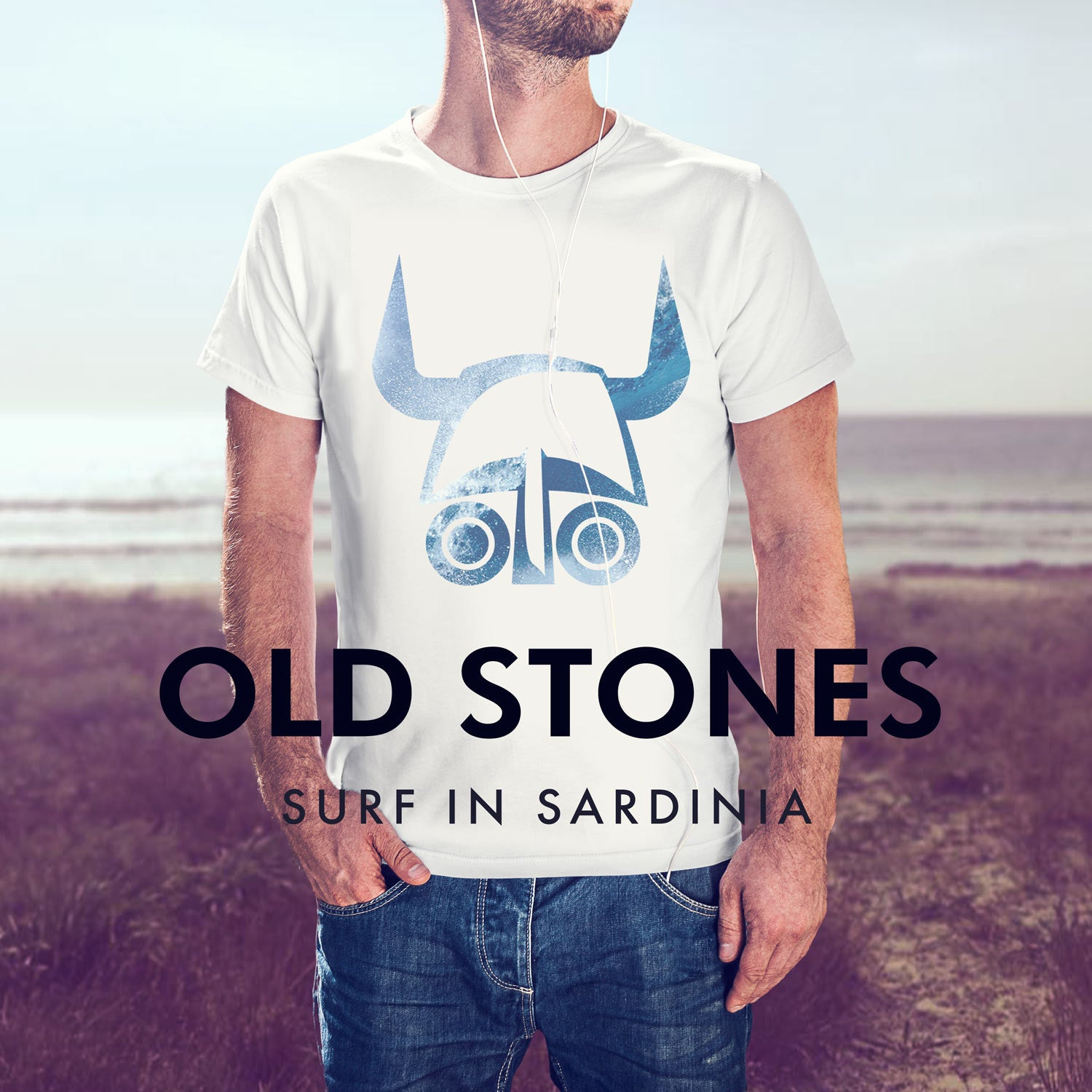 Old Stones, T-shirt made in sardinia