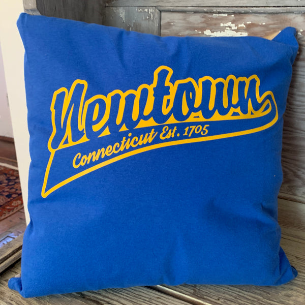 Hometown Newtown T-shirt Pride Pillow