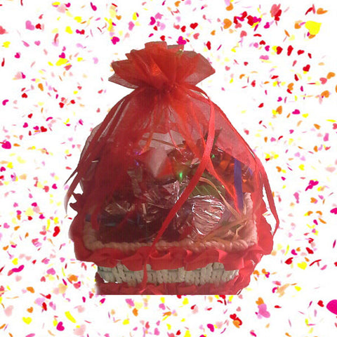 Mini Basket Full of Chocolates