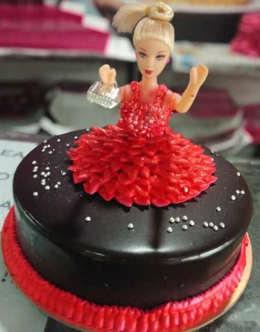 Red Doll Cake