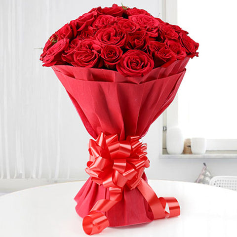 A Bunch of Red Roses for Your Loved Ones. Order now