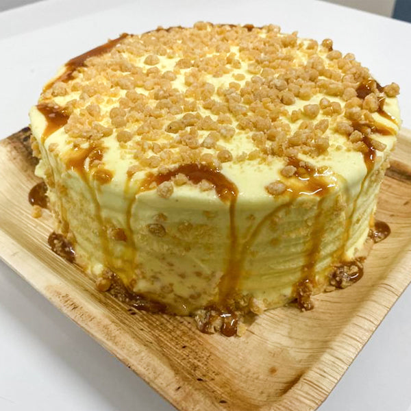 Caramel Scotch Ice Cream Cake