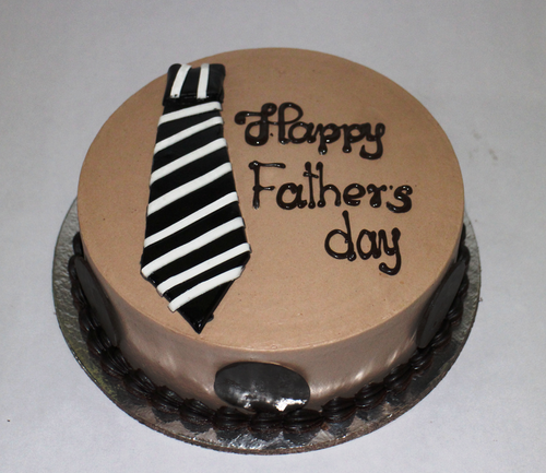 Father's Day Brown Forest Cake