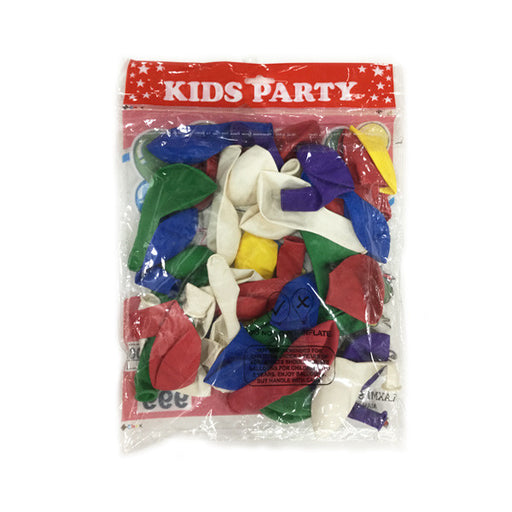 Buy Party Balloons for your kids birthday party. Balloons are of different colors.