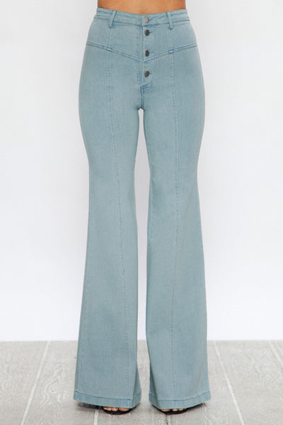 Farrah High Waist Flared Pants