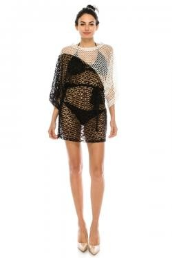 Sasha Crochet Cover Up