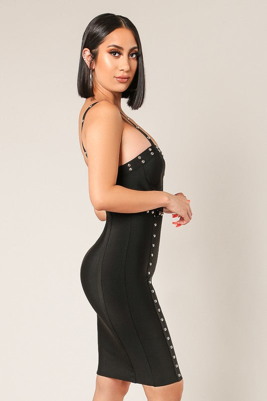 Britney Bella Studded Dress