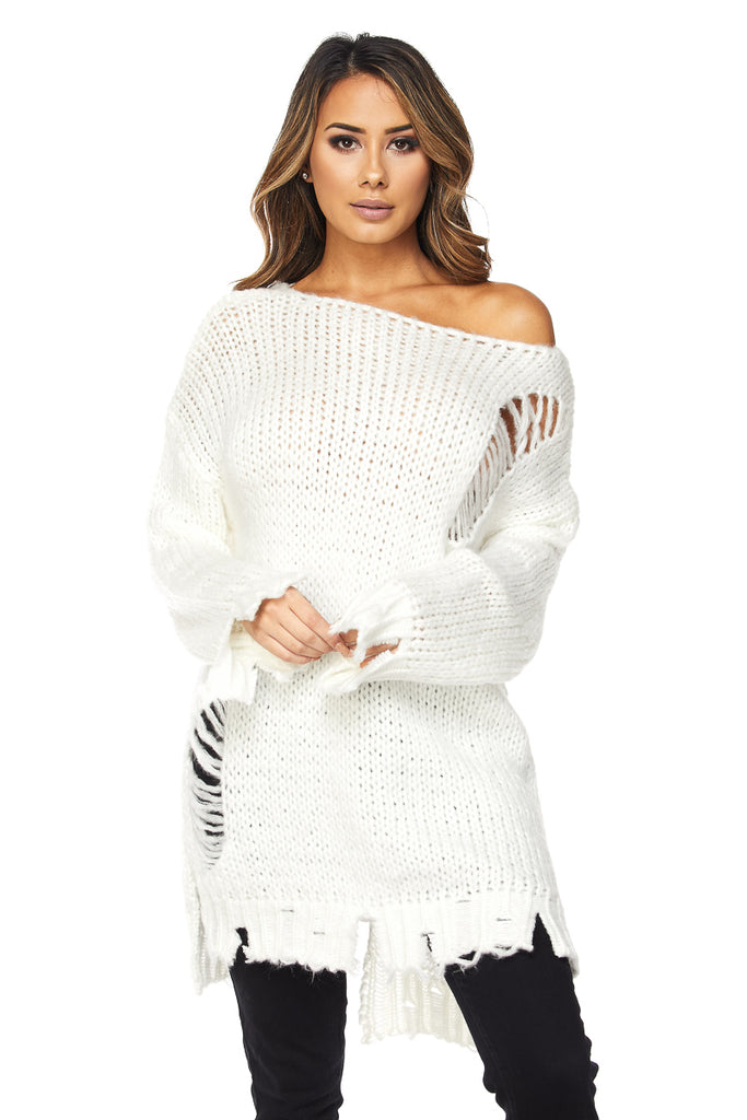 Lace Me Lace Up Sweater Dress