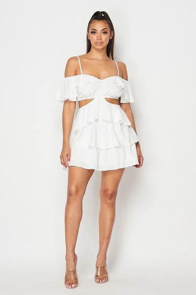 Shyla Renee Off Shoulder Dress