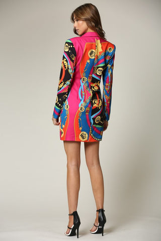 Brenna Blazer Dress