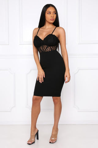 Lucia Lace Bodycon Dress