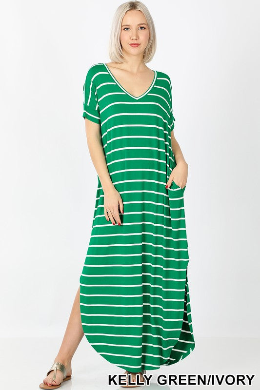 Brittney Long Maxi Dress Plus