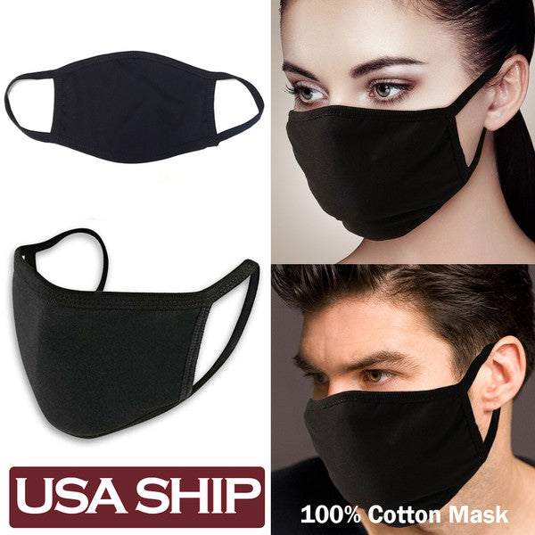 WASHABLE COTTON FACE MASK