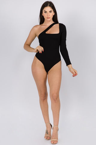Lexie One Shoulder Bodysuit