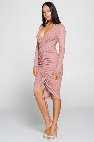 Paloma V Neck Dress