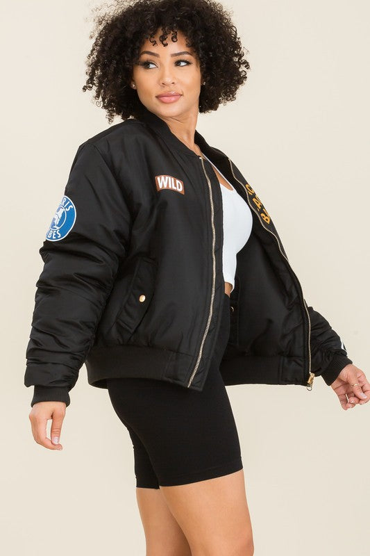 Back Off Bomber Jacket