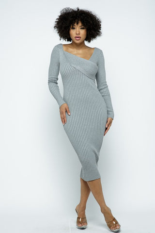 Morgan Long Sleeve Dress