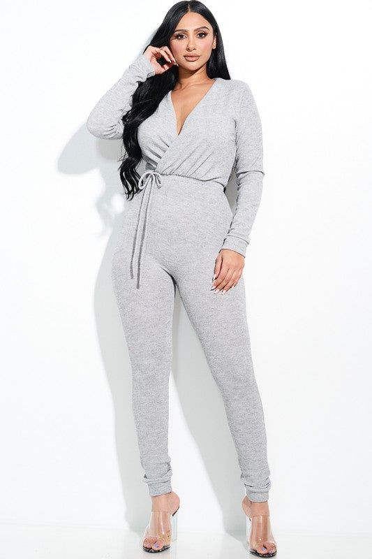 Elle V Neck Jumpsuit