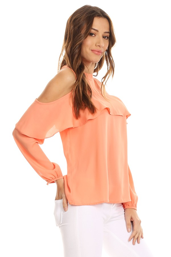 Clarissa Cold Shoulder Top