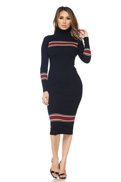 Leslie Turtle Neck Dress
