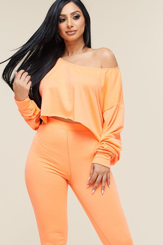 Stacie Slouchy Top Pants Set