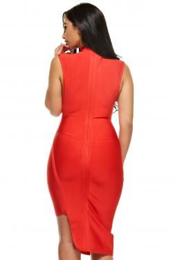Rosa Bandage Bodycon Dress