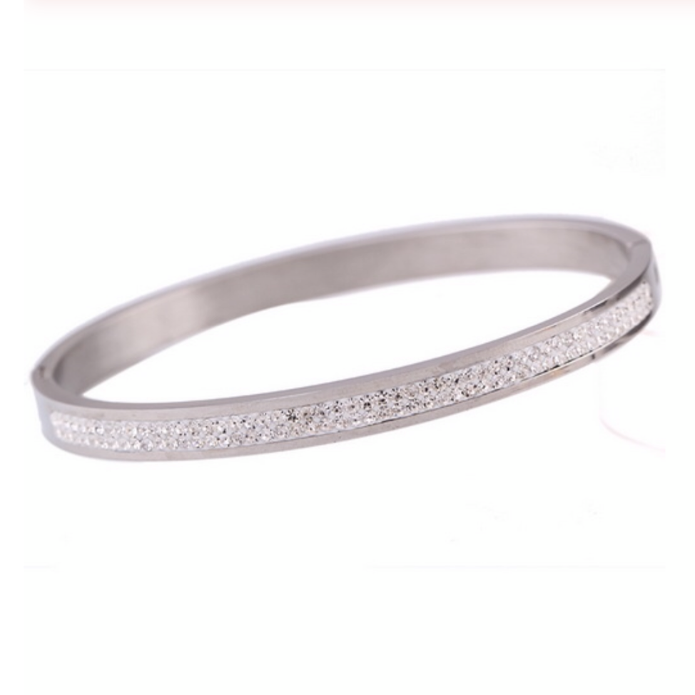Dharma Diamond Bangle