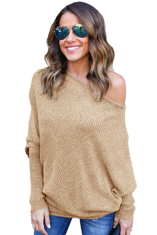 Carla Off Shoulder Long Sleeves Sweater