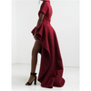 Diva Long Ruffle Dress