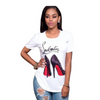 Lou High Heel T-Shirt