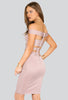 Khloe Off Shoulder Bandage Dress