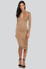 Ella Teardrop Bandage Dress