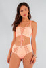 Percilla Lace Up Bandage Bikini