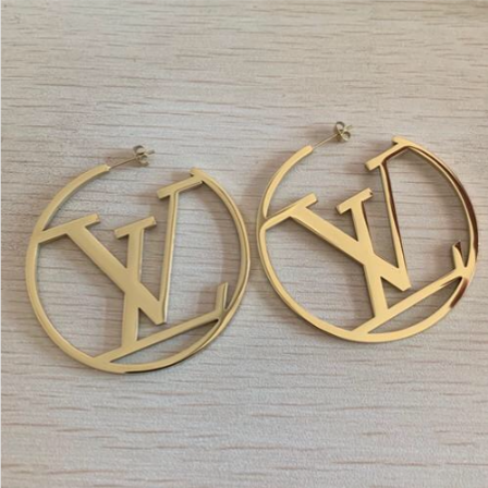 LV Hoop Earrings