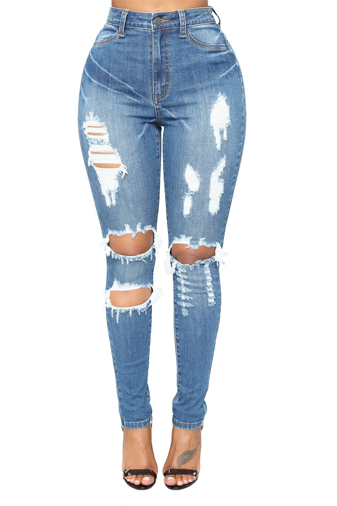 Major Distressed Skinny Jean