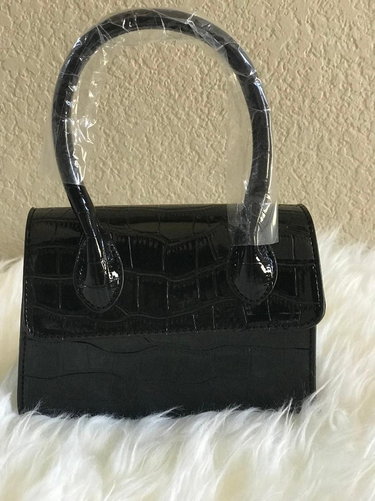 Mini Crocodile Pattern Handbag