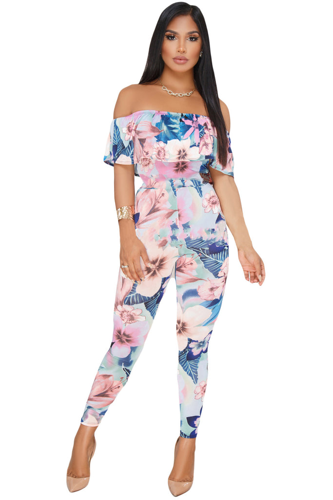 Jasmine Off Shoulder Jumpsuit