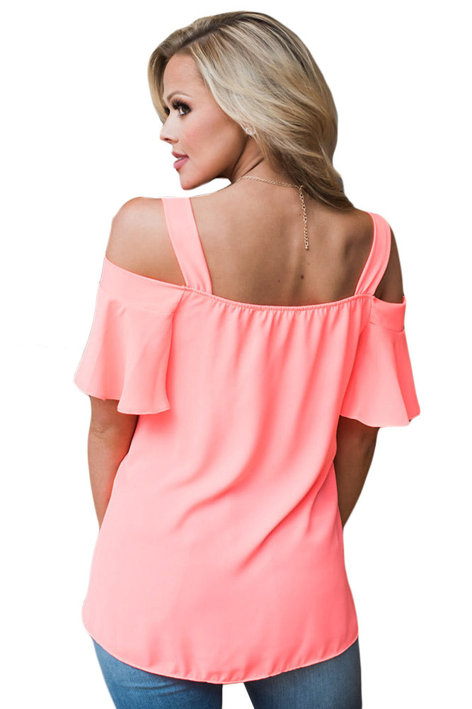 Paula Open Shoulder Top