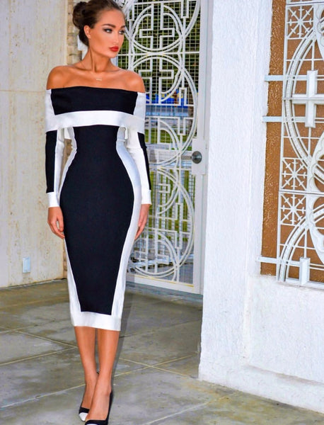 Milania Bandage Dress