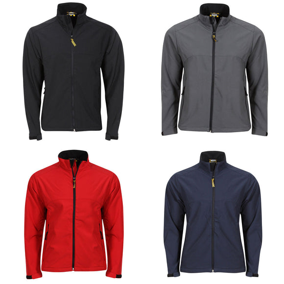 NEW MENS GENTS SOFTSHELL WINDPROOF JACKET XS ,2XL, 3XL, 4XL 3900M CLEARANCE