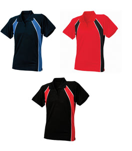 Finden & Hales Ladies Coolplus Jersey Team Polo Tshirt Top LV351