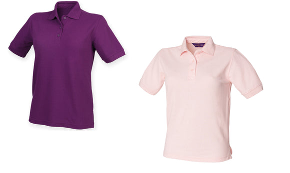 Ladies 65/35 Classic Short Sleeve Women's Durable Polo Shirt H401