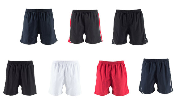 Men's Lined Performance Sports Gym Running Exercise Shorts 7 Colours TL81