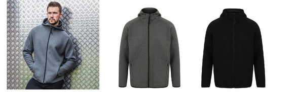 Gents Activewear Contemporary Full Zip Stretch Spacer Hoody TL570