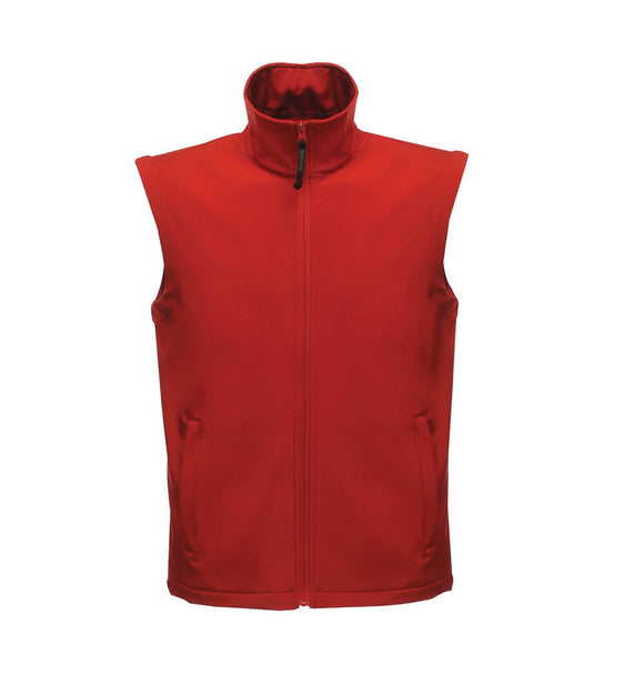 Men's Regatta Water Repellent Classic Softshell Gent's Bodywarmer Gilet TRA820