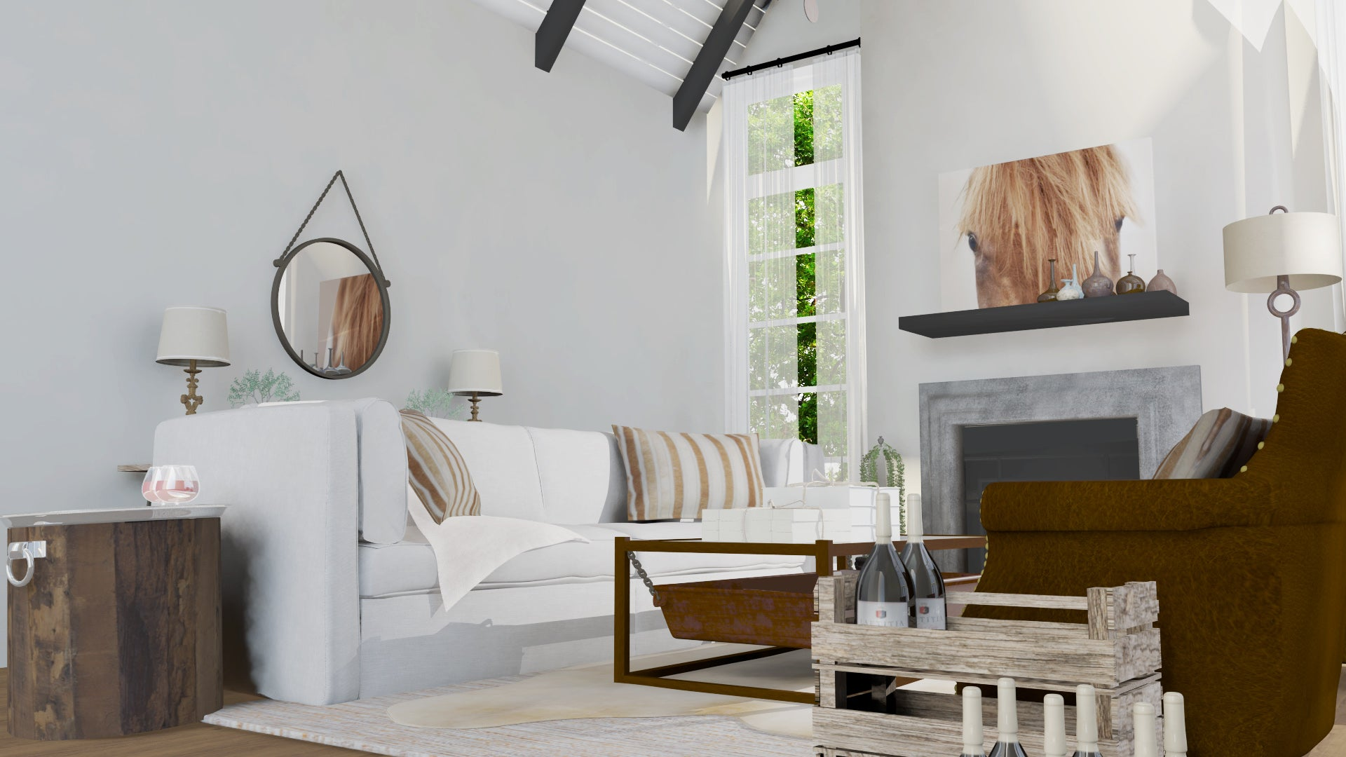 Napa Living Room \u2013 DCLuxeDesign