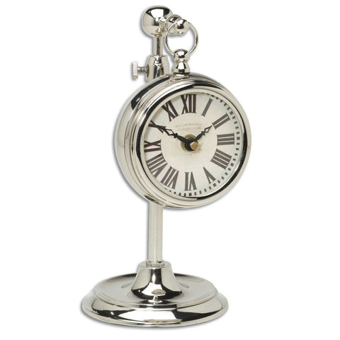Beckett Nickel Clock
