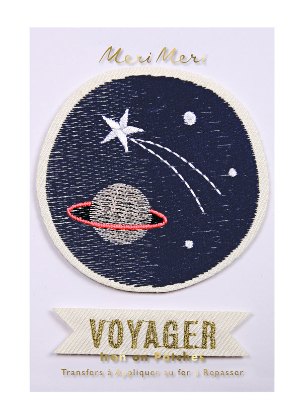 Meri Meri ワッペン【宇宙】Iron-on Patches: Space Voyager
