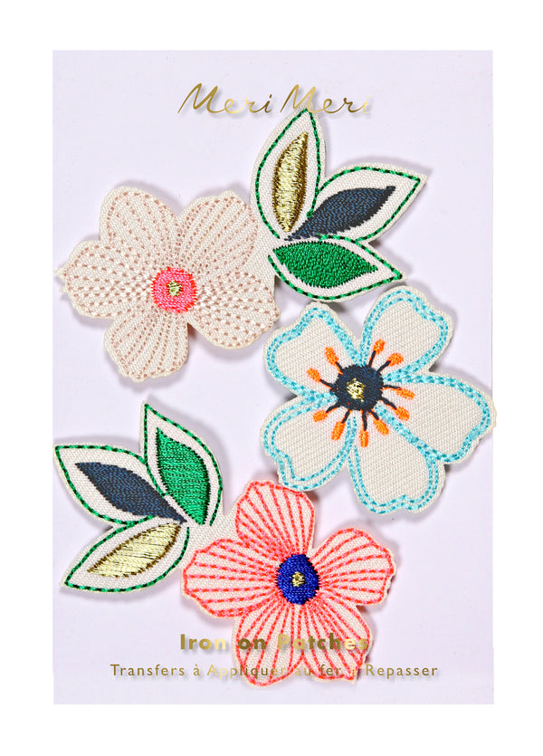 Meri Meri ワッペン【お花】 Iron-on Patches: Flowers